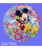 """26"""" Mickey Mouse Clubhouse See-Thru Balloon"""