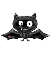 "41"" SuperShape Black Bat Balloon"