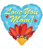 """18"""" Love You Mom Daisy Balloon"""