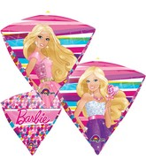 "17"" UltraShape Diamondz Barbie Balloon Packaged"