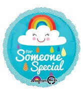 """18"""" Someone Special Rainbow Cloud Balloon"""