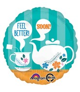 "18"" Feel Better! Soon! Mylar Balloon"
