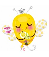 "33"" Mama To Bee Jumbo Balloon"