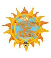"""29"""" SuperShape You Make My Day Sunny Balloon"""
