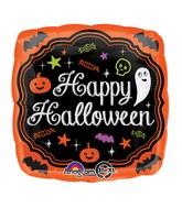 "18"" Halloween Chalkboard Balloon"