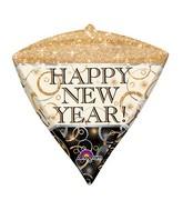 "17"" Ultrashape Diamondz New Year Sparkle Packaged"