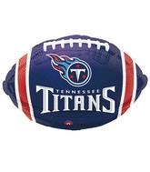 Junior Shape Tennessee Titans Team Colors Balloon