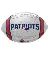 Junior Shape New England Patriots Team Colors Balloon