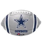 Junior Shape Dallas Cowboys Team Colors Balloon