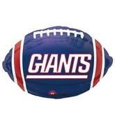 Junior Shape New York Giants Team Colors Balloon