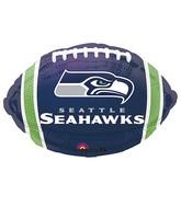 Junior Shape Seattle Seahawks Team Colors Balloon