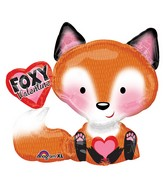 "28"" SuperShape Foxy Valentine Balloon"