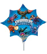 Airfill Only Mini Shape Skylanders Balloon
