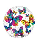 "18"" Beautiful Butterflies Balloon"