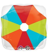 "18"" Umbrella Top Balloon Packaged"