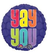 "18"" Yay You Balloon"