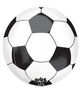 "16"" Orbz Soccer Ball Balloon Packaged"