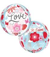 """16"""" Orbz Meet Me in Paris Balloon Packaged"""