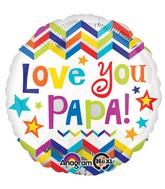 """18"""" Love You Papa Balloon"""