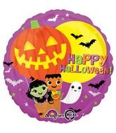 """18"""" Halloween Hot Air Balloon Balloon"""