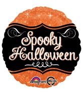 "18"" Sparkle Spooky Halloween Balloon"