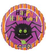 "18"" Cute Halloween Spider Balloon"