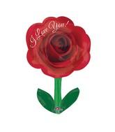 "28"" Junior Shape I Love You Rose with Stem"