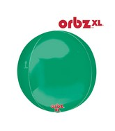"16"" Orbz Obrz Green Balloon"