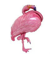 "35"" SuperShape Flamingo Beach Balloon"