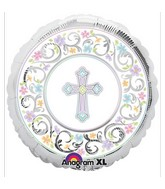 "18"" Blessed Day Mylar Balloon"
