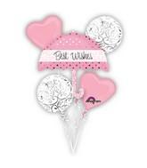 New Pink Wedding Balloon Bouquet