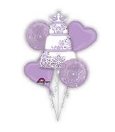 Lilac Wedding Balloon Bouquet
