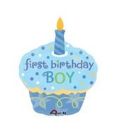 "Junior Shape Sweet Little Cupcake Boy 36"""