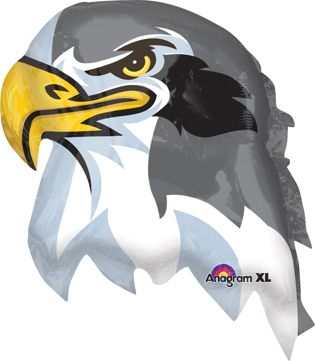 "23"" Jumbo Team Mascot Falcons Balloon"