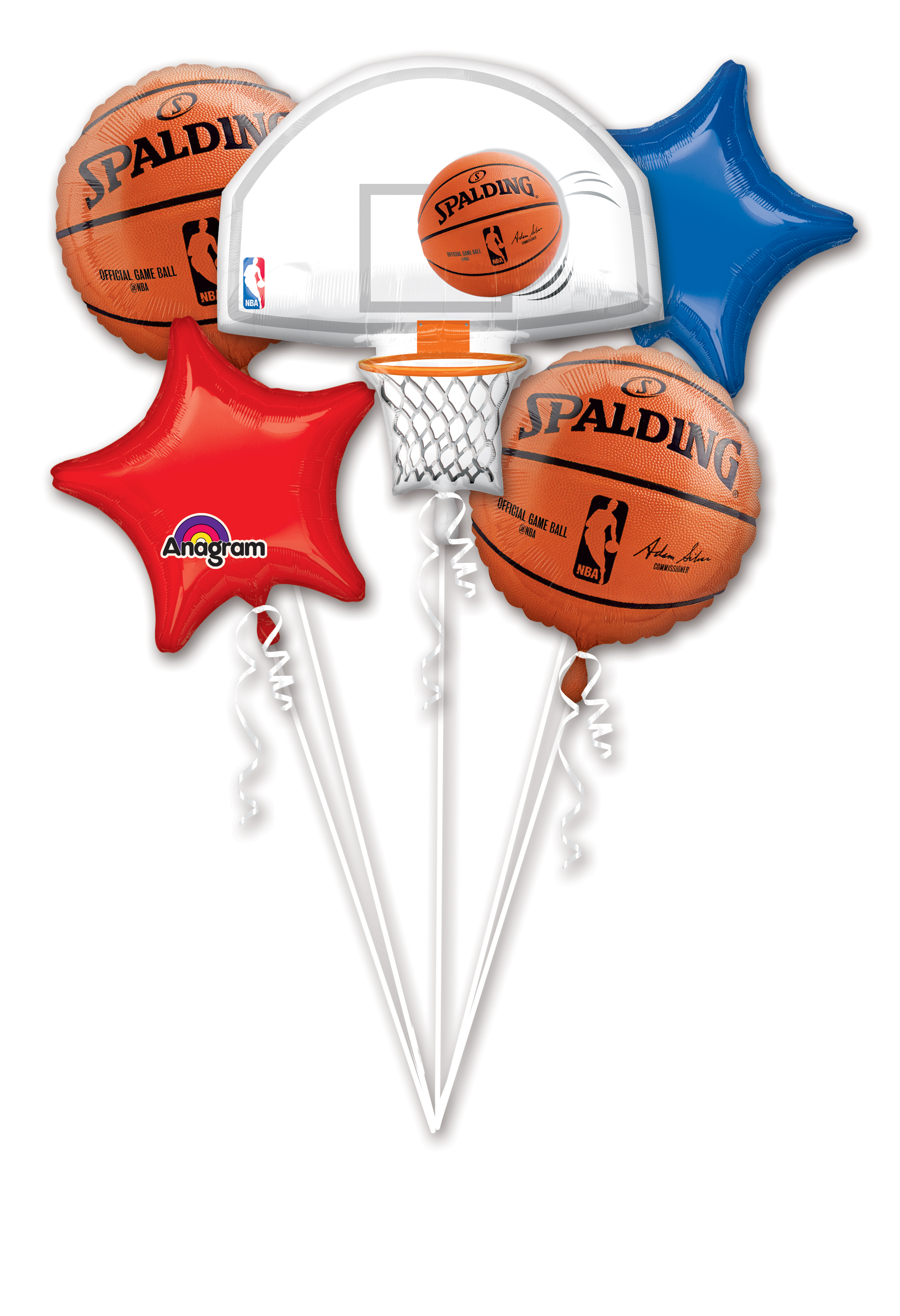 NBA Balloon Packaged Bouquet