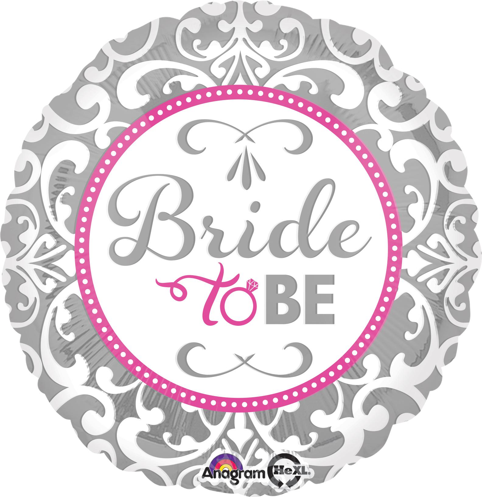 "18"" Elegant Bride Balloon"
