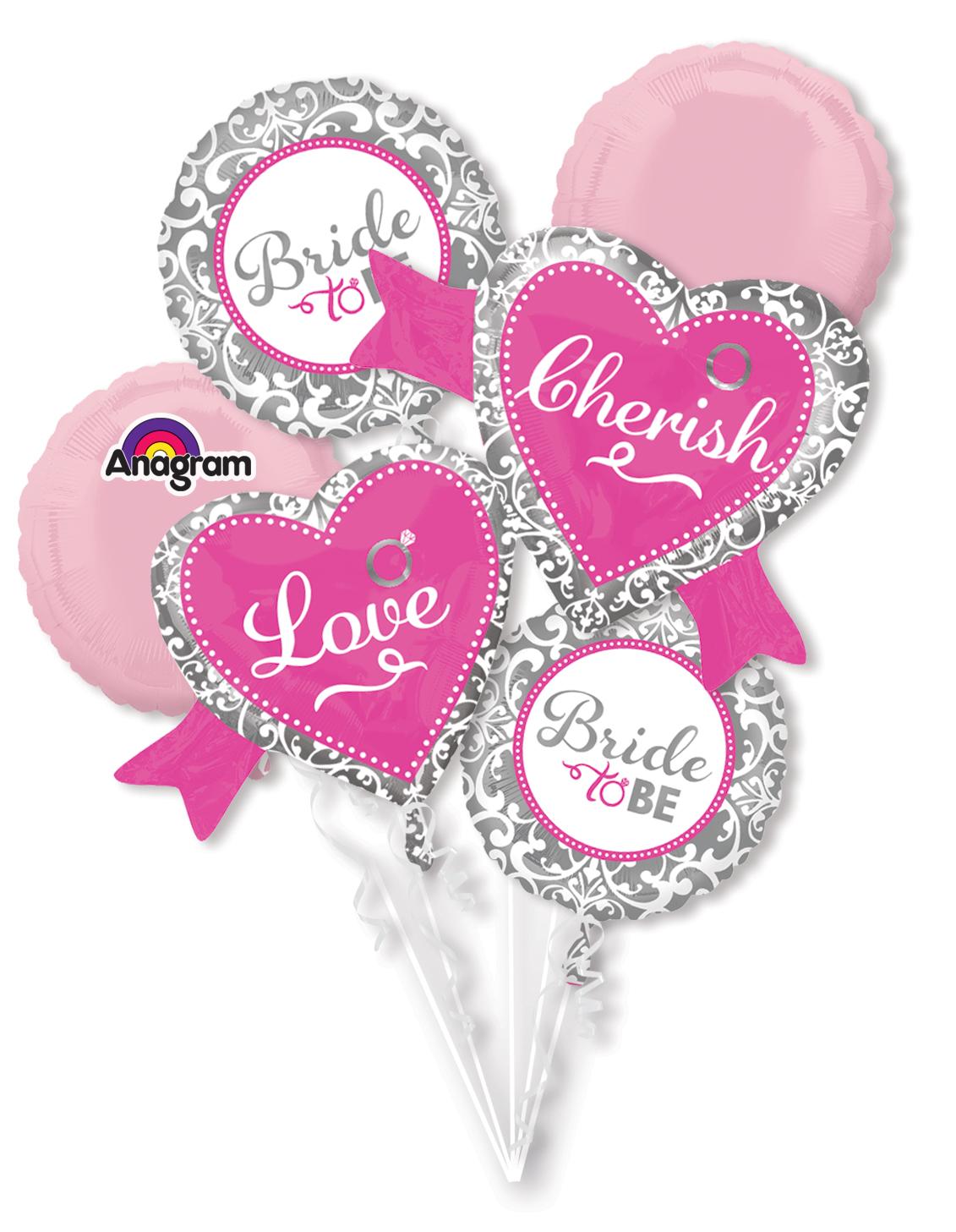 Bouquet Elegant Bride Balloon Packaged