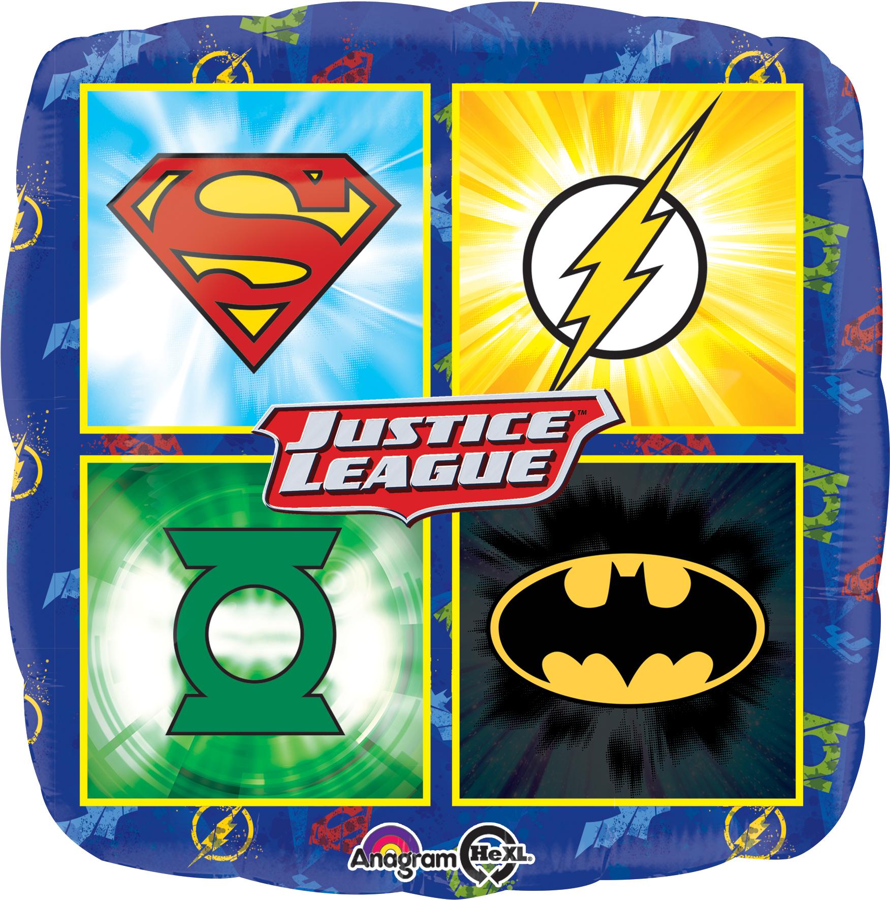 "18"" Justice League Balloon"