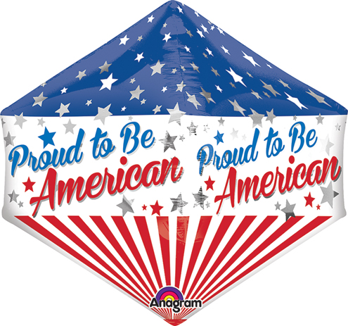 """21"""" Anglez Jumbo Proud to Be American Packaged"""