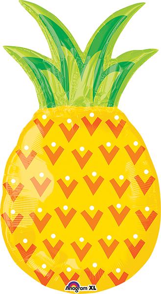 """31"""" Jumbo Pineapple Balloon"""
