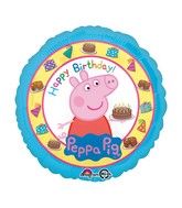 "18"" Peppa Pig Happy Birthday Balloon"