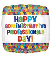 """18"""" Administrative Professionals Day Balloon"""