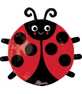 "19"" Happy Lady Bug Balloon"