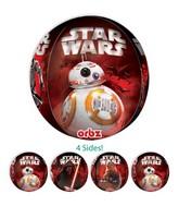 "16"" Orbz Jumbo Star Wars The Force Awakens Balloon Packaged"