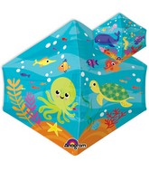 "21"" Anglez Jumbo Under the Sea Balloon Packaged"