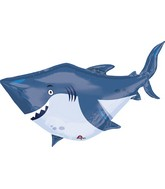 "40"" Jumbo Ocean Buddies Shark Balloon"