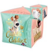 "15"" Cubez Jumbo Secret Life of Pets Balloon Packaged"