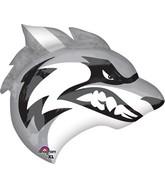 """24"""" Jumbo Team Mascot Huskies Balloon"""