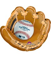 "25"" Jumbo Major League Baseball Shape Balloon"