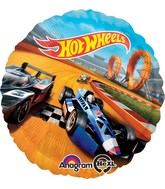 Hot Wheels Mylar Balloons